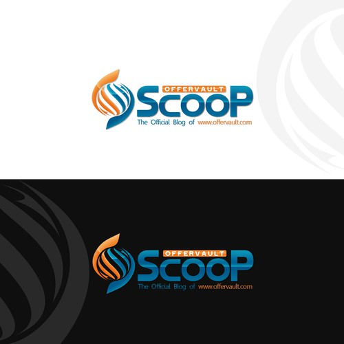 "Logo for Offervault ""Scoop"" - A News / Magazine style site for Internet Marketers"