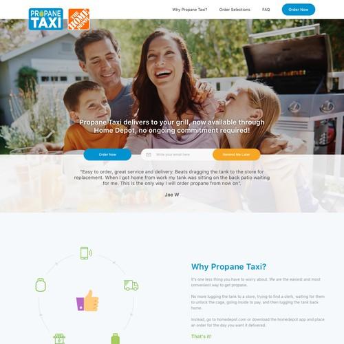 Propane Taxi Website