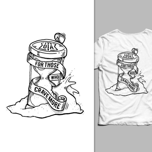illustration design for a t-shirt
