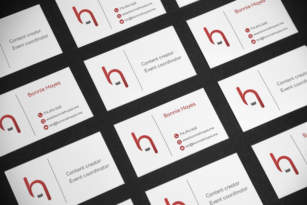 Business Card for Bonnie Hayes