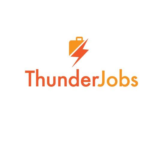 logo for job hunting website