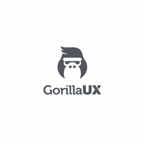 Create a Gorilla logo for an upcoming design blog / website