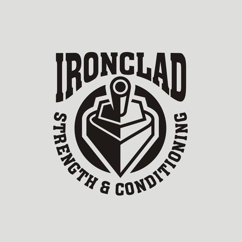 Bold strong logo