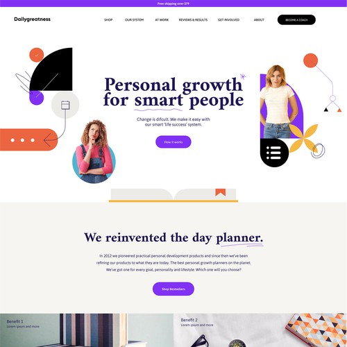 peronal growth webconcept