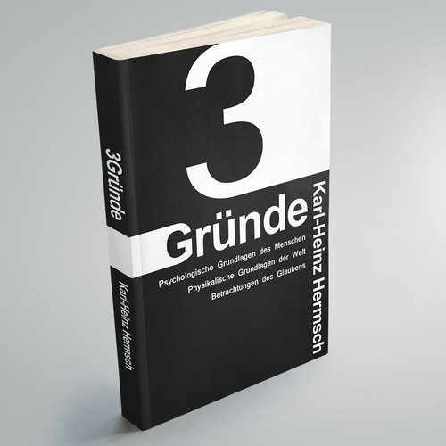 Bold Typography Book Cover Design