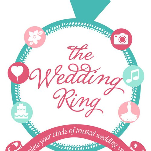 """Create the logo for """"The Wedding Ring"""""""