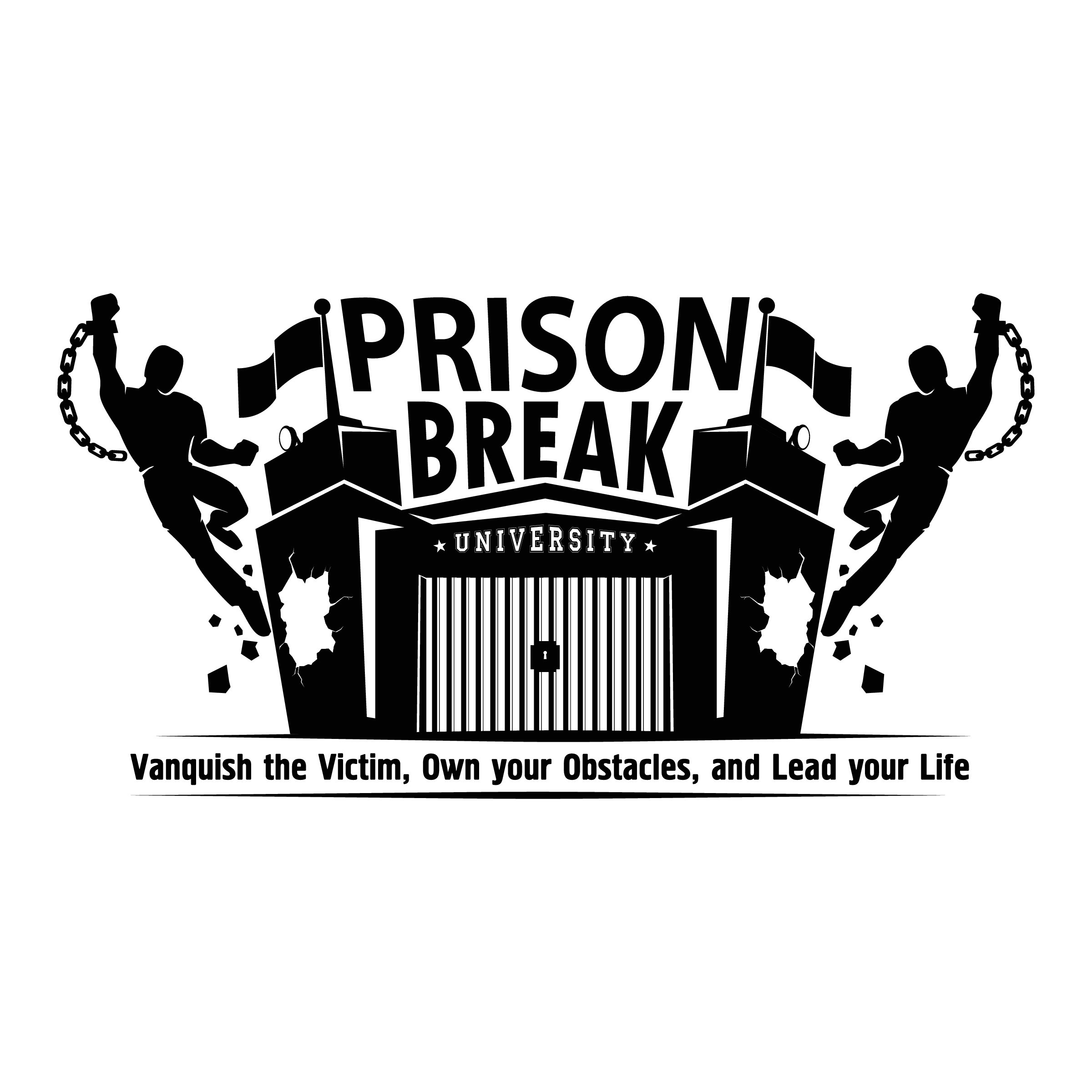 """Create a FRESH & BOLD Logo for """"Prison Break University"""" to help people create a life/biz they love!"""