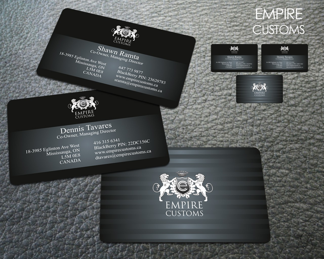New stationery wanted for Empire Customs