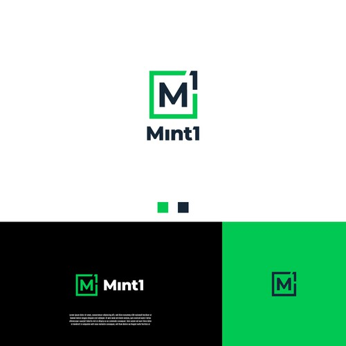 Powerful modern logo concept for Mint1