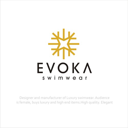 Elegant logo for Swimwear company
