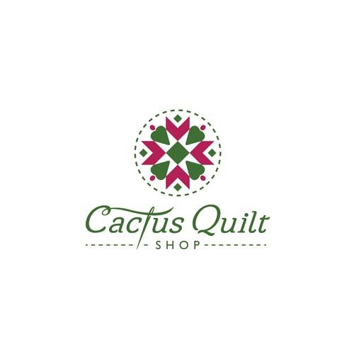 quilt shop logo
