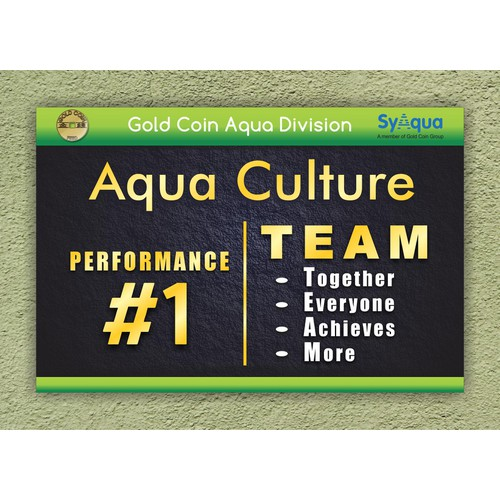 Gold Coin Group = Aqua Division