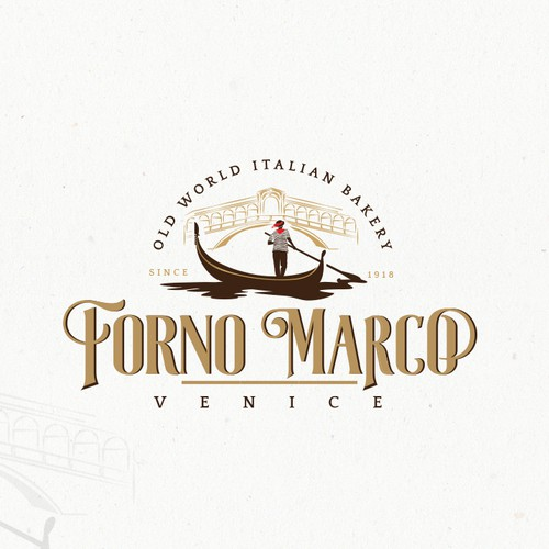 Elegant logo for an Italian themed business