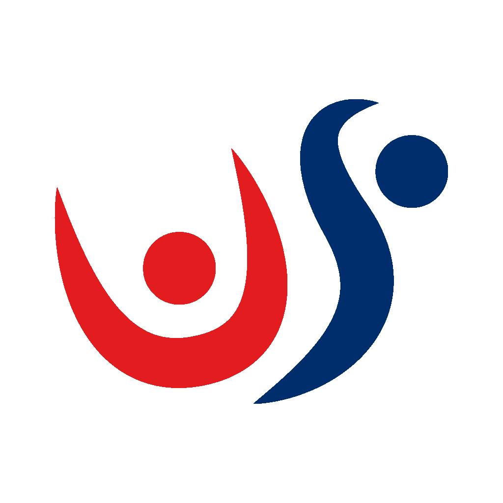 Horizontal version of US Gymnastic Championship Logo