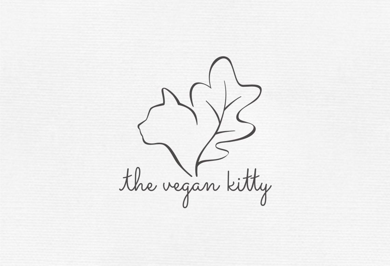 The Vegan Kitty! Create an Adorable, yet badass, logo for this oxymoron.