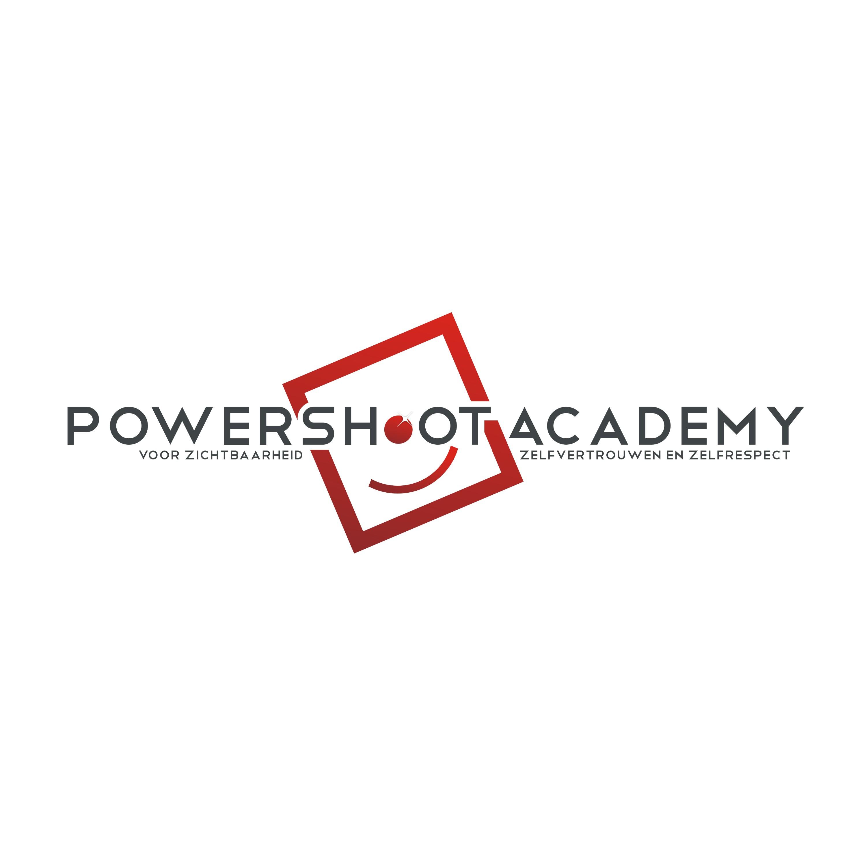De Powershoot Academy zoekt logo dat haar kwaliteit, vernieuwing en exclusiviteit uitstraalt