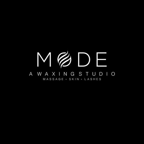Logo for a waxing studio.