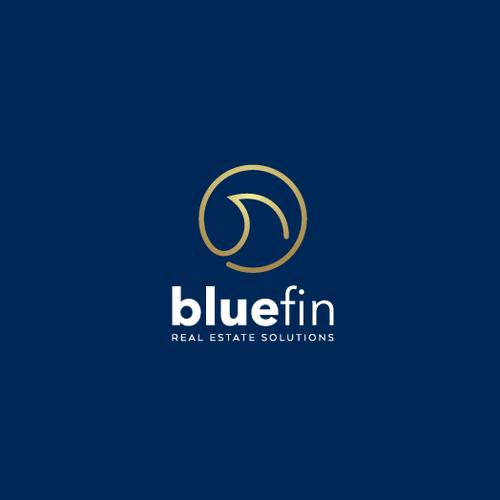Logo design for bluefin
