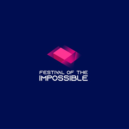Winning logo design for Festival of the impossible