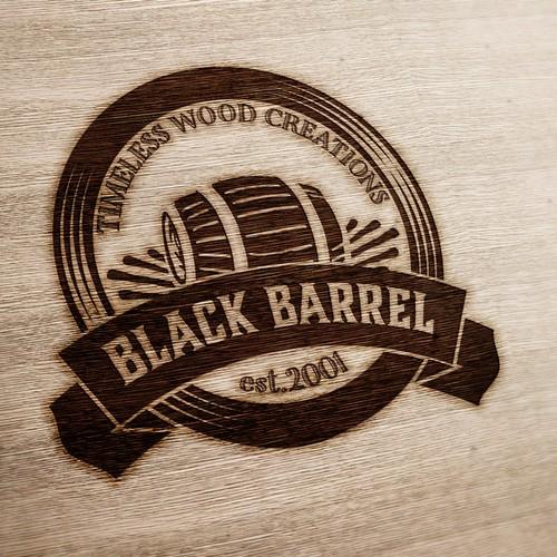 Vintage logo for Black Barrel