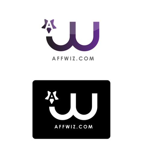 LOGO/branding for AffWiz.com, an internet marketing product line