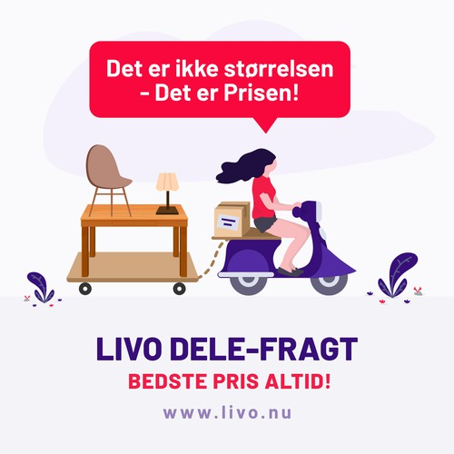 Livo Freight Delivery Ad