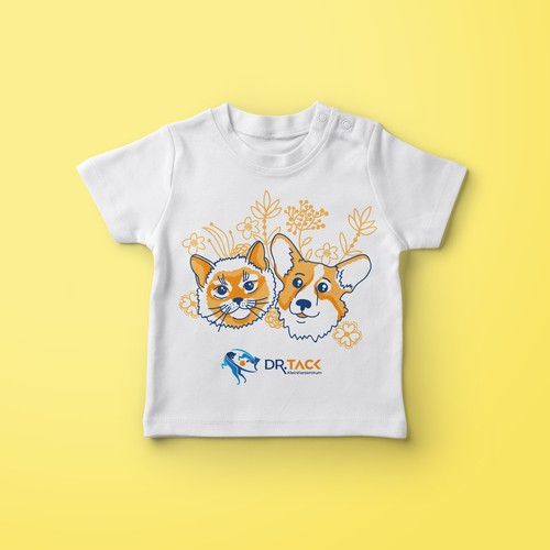 T-Shirt for a small animal clinic