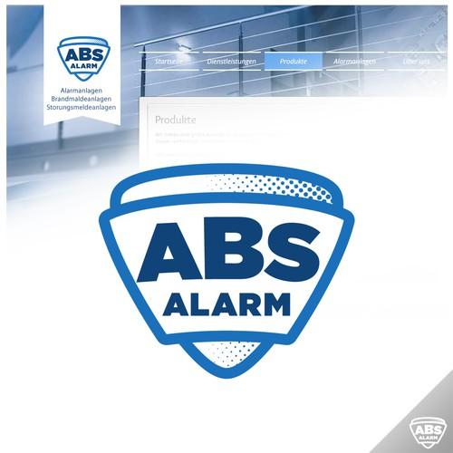 Alarm installation firma Logo