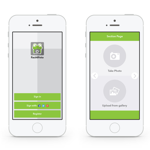 Create a beautiful photo sharing app