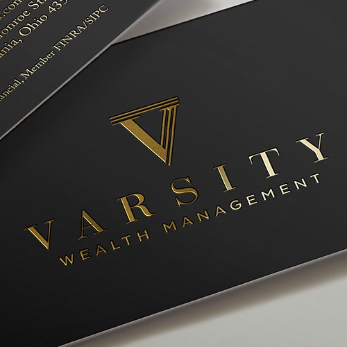 Logo for a financial advisor