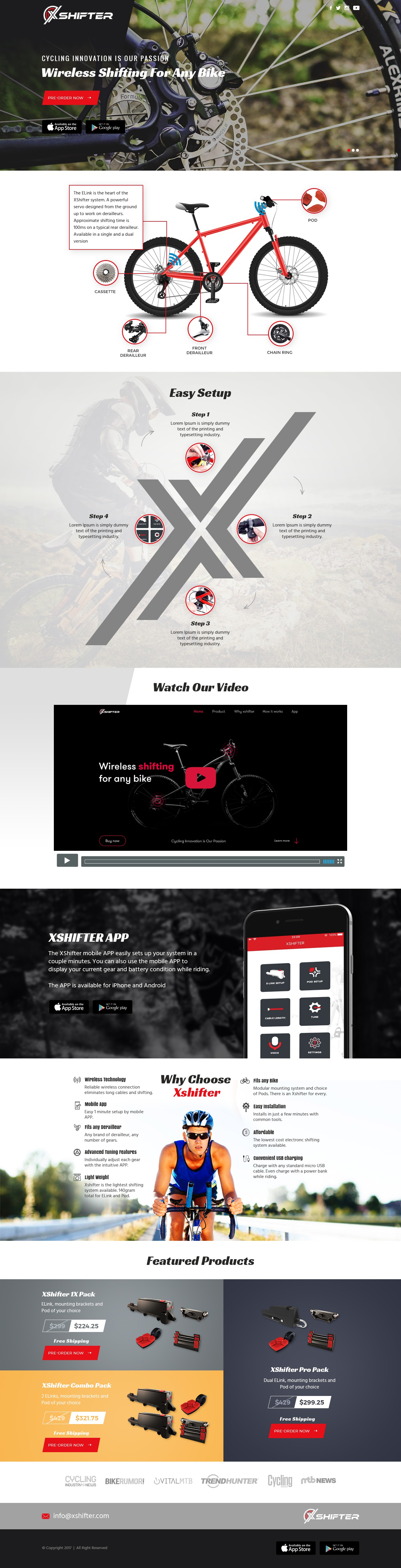 Transfer landing page PSD to coded website