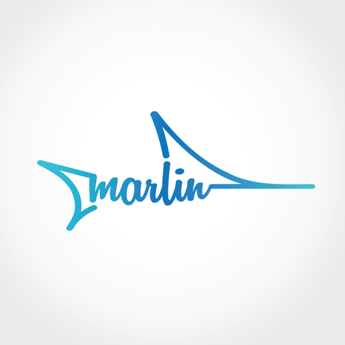 Marlin logo design