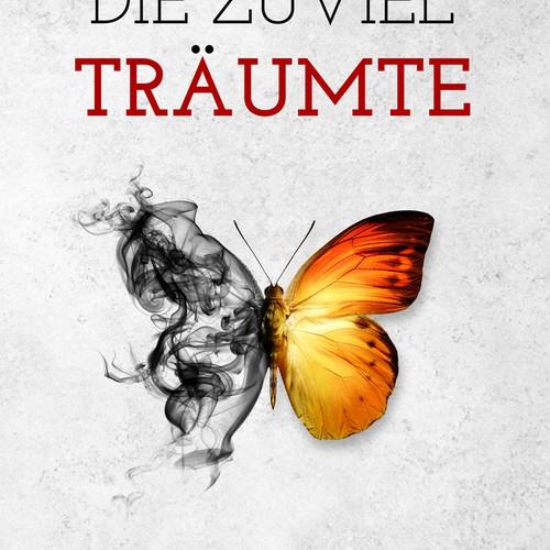 book cover design for a psychologically inspired novel