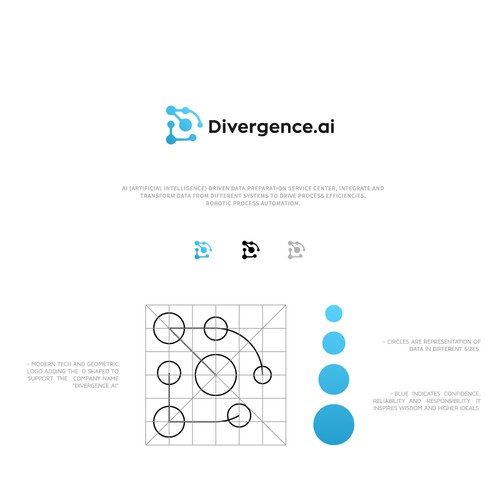 Create the most Divergent AI logo