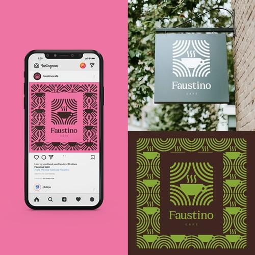 Identidad Faustino Café