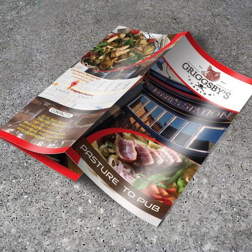Try Fold Brochure design