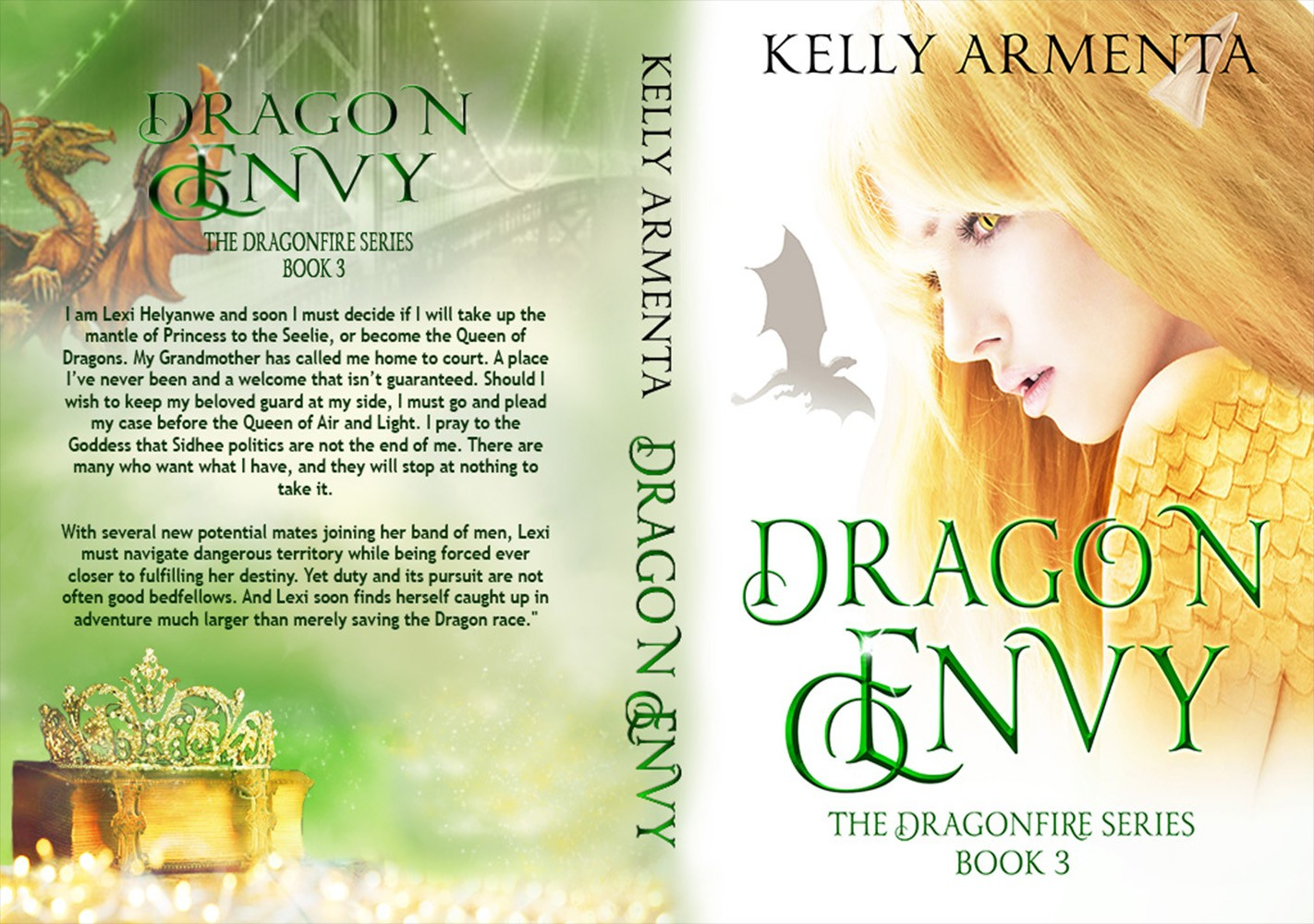 Design my Dragon Envy Book Cover