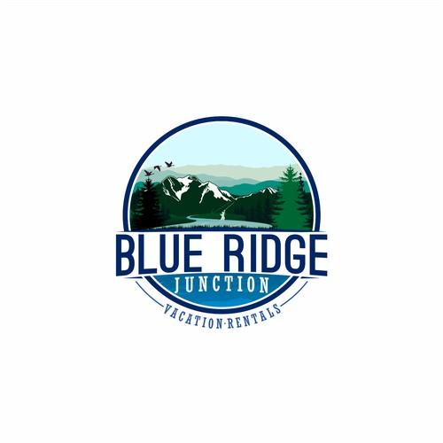 Logo design Blue Ridge Junction