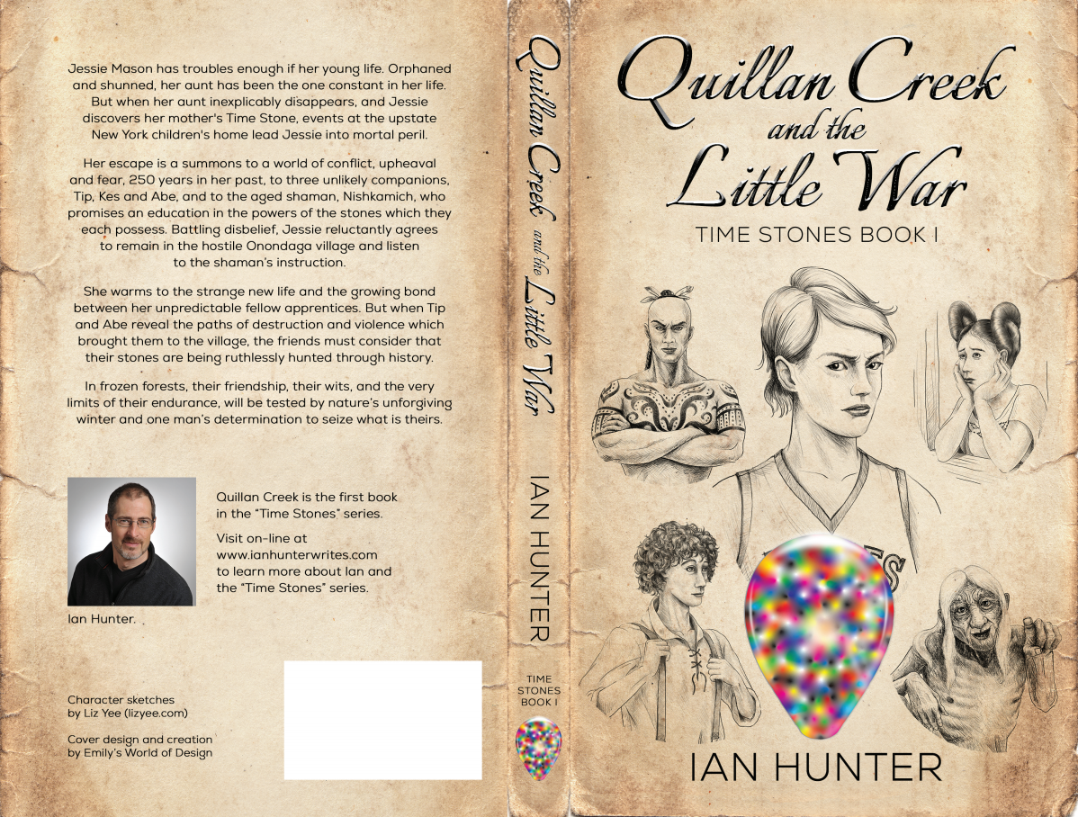 Book Cover Design - Quillan Creek and the Little War