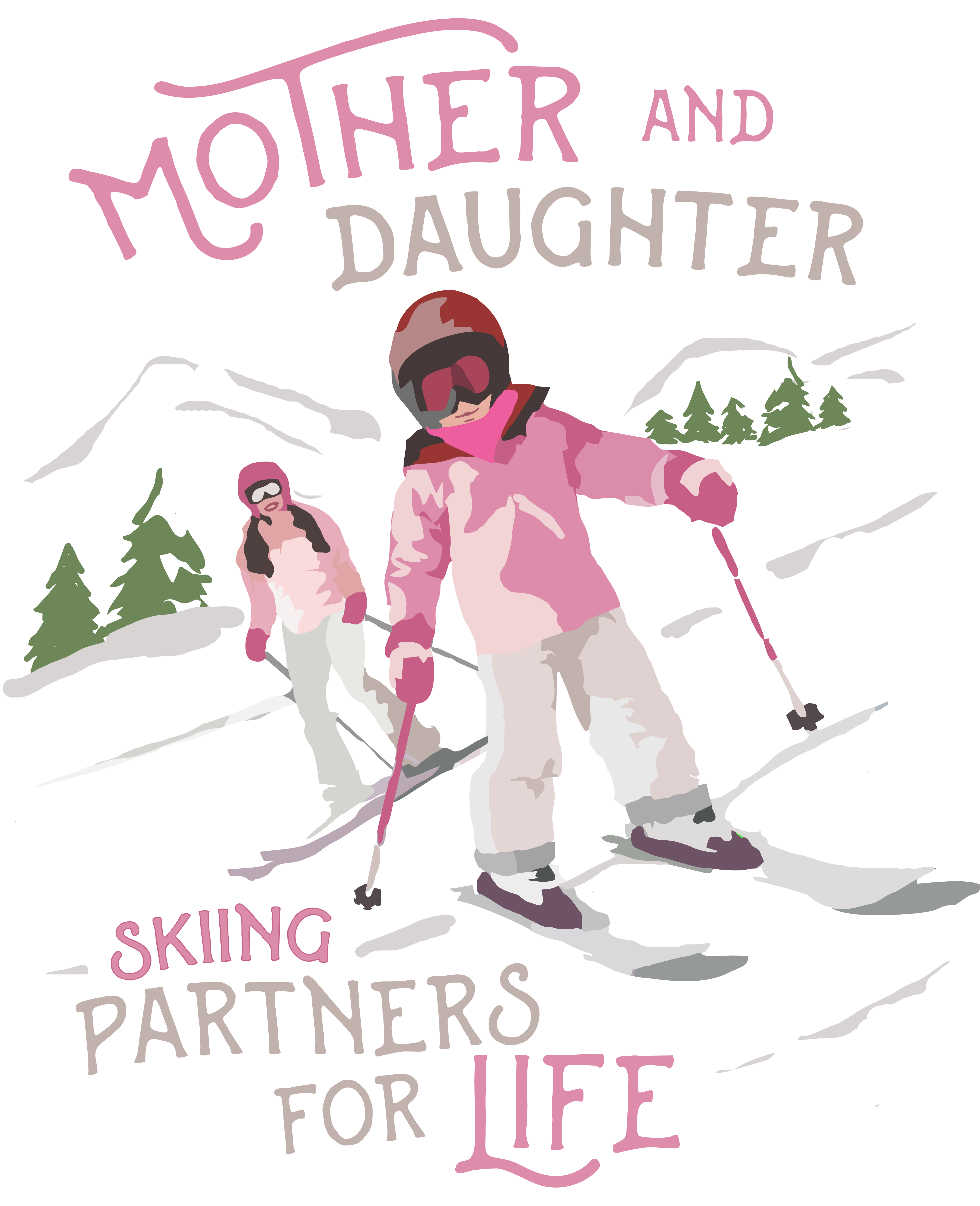 Skiing Shirts (Live to Ski & Father Son)