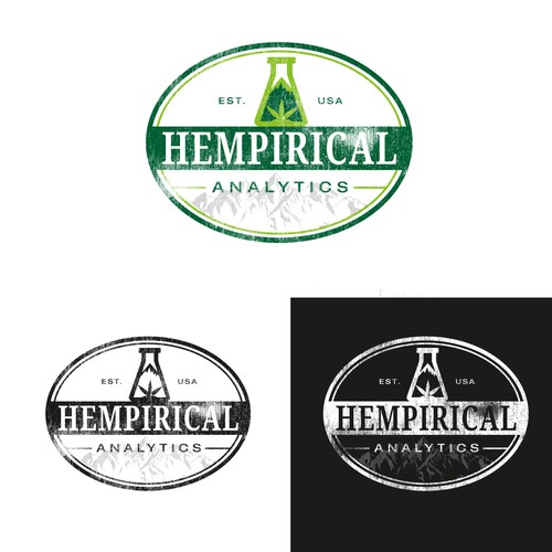 Logo design for Hempirical Analytics.