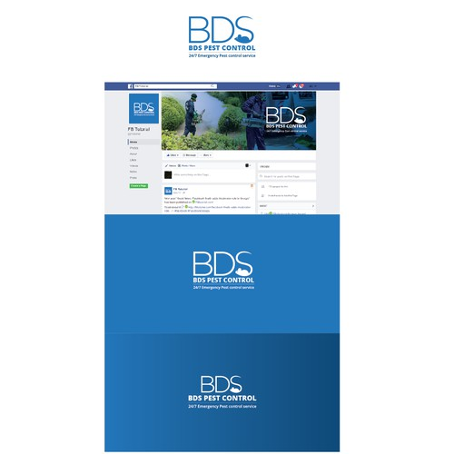 Logo for BDS Pest Control