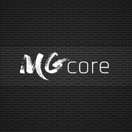 Fresh and modern fitness logo for mg.core