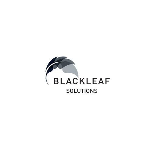 Black Leaf Logo