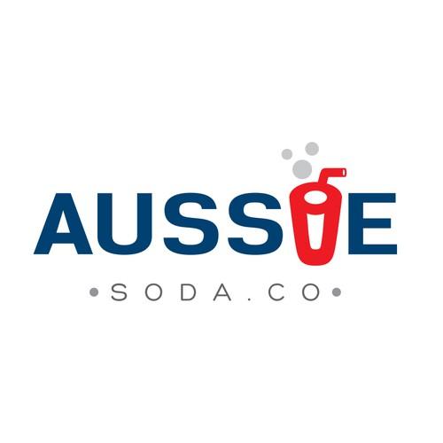 Logo for AUSSIE SODA CO.