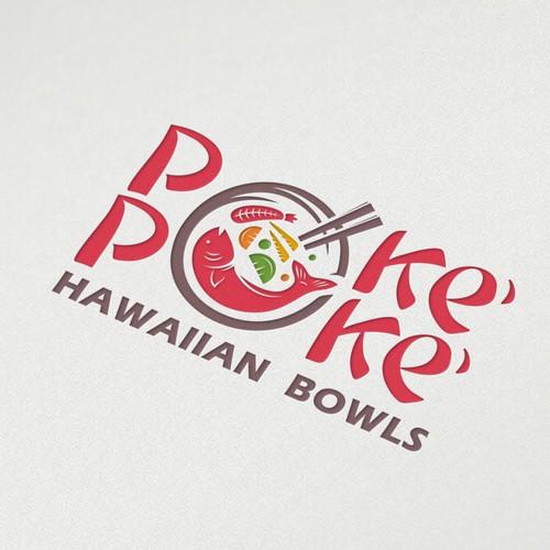 Concept food restaurants for Poke' Poke' Hawaiian Bowls
