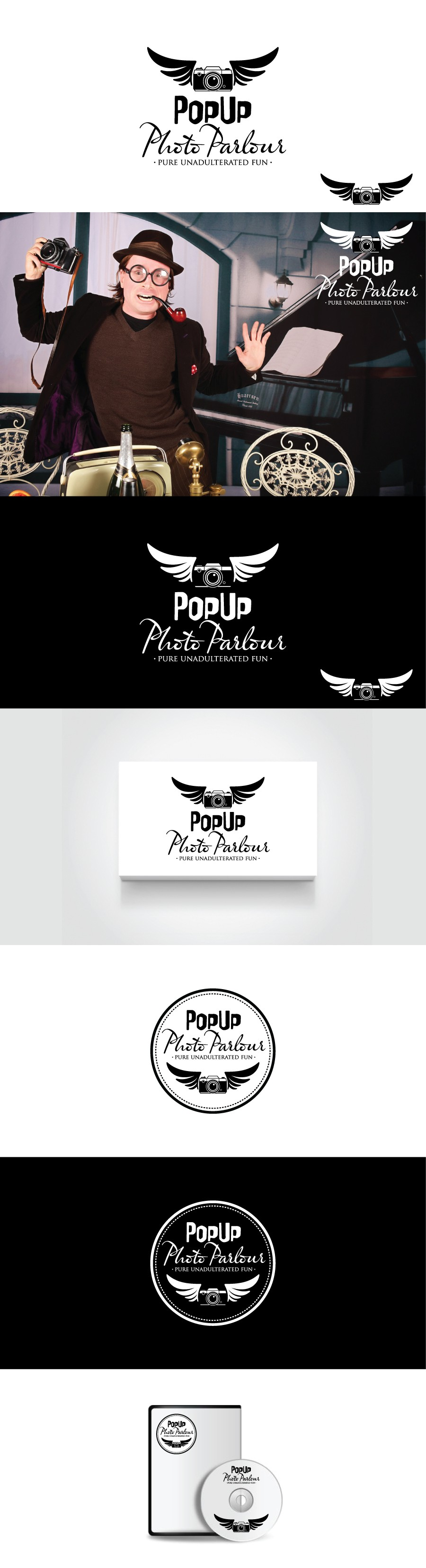 An eccentric English company with a fab clients list seeking a quirky stylish logo.