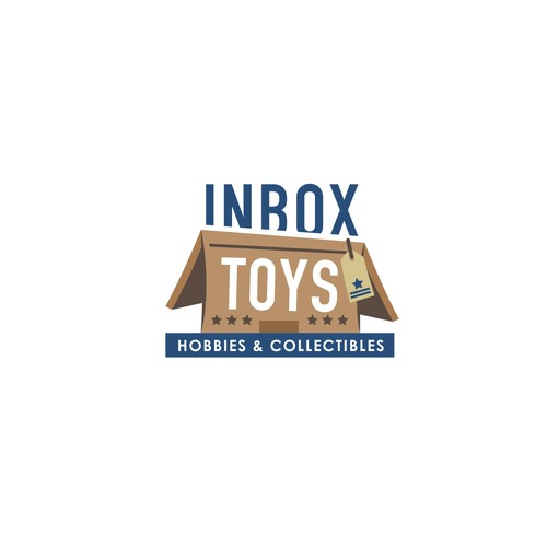 Logo concept for Inbox Toys