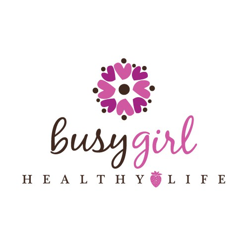 Create the next logo for Busy Girl Healthy Life