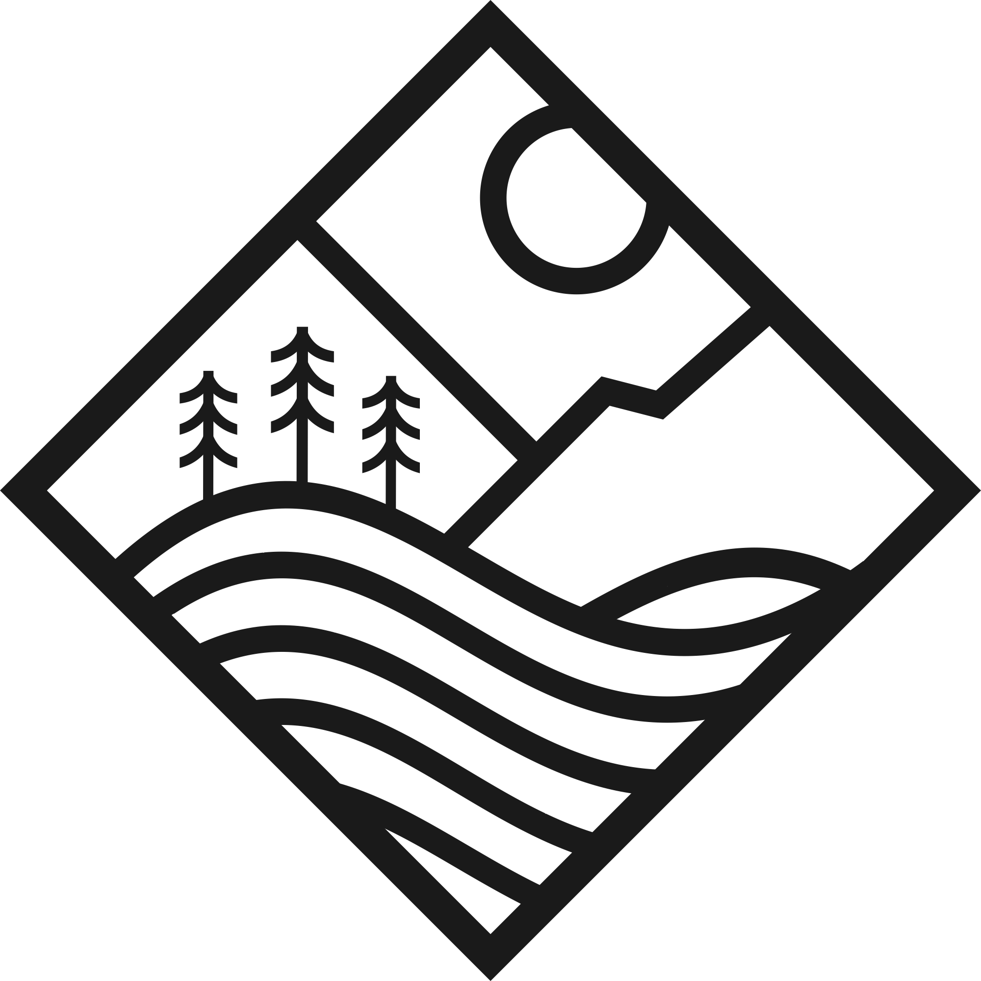 Surf and Mountain Lifestyle Company Logo
